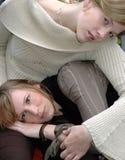Rebecca und Kristina13 lizenzfreies stockbild
