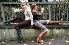 Rebecca und Kristina3 lizenzfreies stockbild