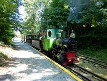 Rebecq, Belgium - July 10th 2018: Touristic vintage steam train of Rebecq - Rognon, Rebecq Royalty Free Stock Photos