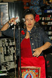 Rebekah Del Rio. At Rebekah's Special Acoustic In-Store Show, featuring songs from her new CD 'All My Life, Toda Mi Vida' at the Virgin MegaStore Sunset, West royalty free stock images