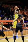 Rebekkah Brunson - basket Arkivfoto
