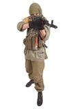Rebel with AK 47 Royalty Free Stock Image