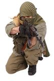 Rebel with AK 47 Stock Image