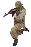 Rebel with AK 47 Stock Photos