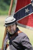 Rebel flag Stock Photography