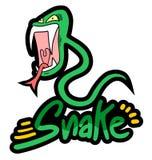 Rebel snake Royalty Free Stock Images