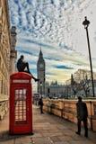 Rebelde em Londres Imagens de Stock