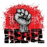 Rebelde-puño Foto de archivo