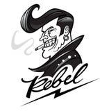 rebell stock illustrationer