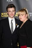 Rebellen-Wilson, Chris Colfer stockfotos