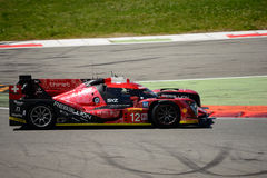 Rebellion Racing R-One AERs LMP1 test at Monza Royalty Free Stock Photo