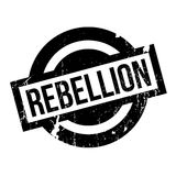 Rebellion rubber stamp Stock Photography