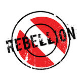 Rebellion rubber stamp Stock Image