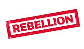 Rebellion rubber stamp Royalty Free Stock Photos
