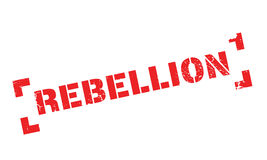 Rebellion rubber stamp Royalty Free Stock Image