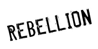 Rebellion rubber stamp. Grunge design with dust scratches. Effects can be easily removed for a clean, crisp look. Color is easily changed Royalty Free Stock Photo