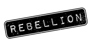 Rebellion rubber stamp Stock Photos