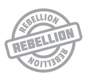 Rebellion rubber stamp Stock Images