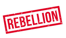 Rebellion rubber stamp Royalty Free Stock Photography