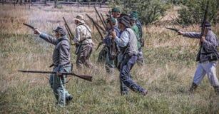 Rebels Attack Royalty Free Stock Image