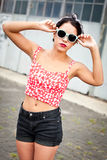Rebelse tiener Stock Fotografie