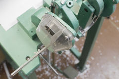 Rebite ou aperte o mashine para postprinting Foto de Stock Royalty Free