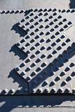Rebites metálicos no fundo do ferro - teste padrão industrial - indústrias siderúrgicas fotos de stock