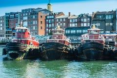 Rebocadores do porto de Portsmouth Foto de Stock