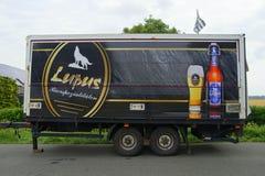 Reboque da cerveja de Lupas Pilsener Imagens de Stock Royalty Free