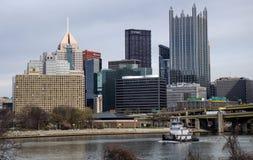 Reboque de Pittsburgh imagem de stock royalty free