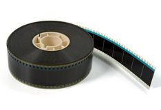 Reboque do filme de filme fotos de stock royalty free