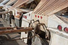 Reboques rústicos do caminhão Imagem de Stock Royalty Free