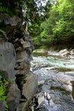 Rebord de rivière Images stock