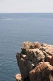 Rebord rocheux Photo libre de droits