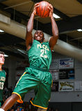 Rebound. Basketball action with Placer vs. Shasta High School in  Redding, California Stock Photography