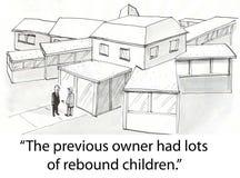 Rebound children Royalty Free Stock Photo