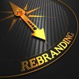 Rebranding. Concept d'affaires. illustration stock
