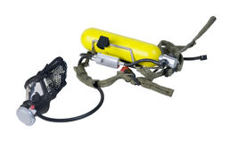 Rebreather used by Emergency Personnel Stock Photo
