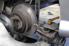 Free Rebuild Surface Of Disc Brake Royalty Free Stock Images - 60099169
