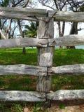 Rebuild your fences 1 Stock Images