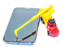 Rebuild your phone system Royalty Free Stock Photography