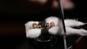 Rebuildable капая атомизатор Vaping акции видеоматериалы