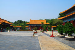 The rebuilded palace(Zhuhai, China) Royalty Free Stock Image