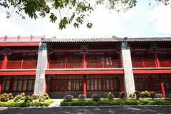 rebuilded yuanming的宫殿 免版税库存图片