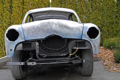 Rebuilding classic car Royalty Free Stock Image