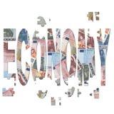 Rebuilding european economy Stock Image