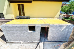 Rebuilding a family house Royalty Free Stock Image