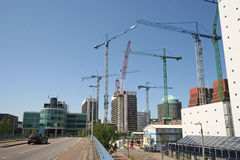 Rebuilding The Hague Stock Images