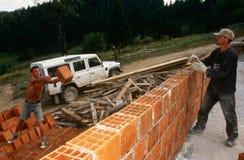 Rebuilding in Kosovo. Stock Photography