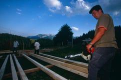 Rebuilding in Kosovo. Royalty Free Stock Photos